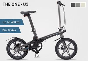 THE ONE U1 Very Lightweight Folding Electric Bicycle for Sale in New York, NY