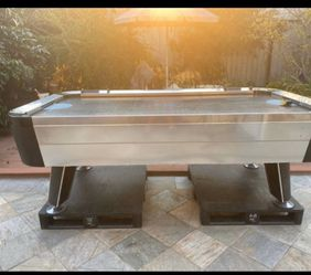 Air Hockey Table Has Water Damage On Board for Sale in Garden Grove,  CA