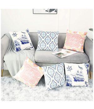BrandNew Velvet Pattern Printed Throw Pillow Covers Cotton Linen Sofa Decorative Cases ($15/Pair) for Sale in Richmond, VA