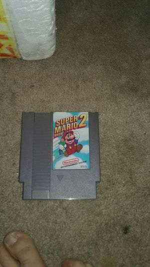Super mario bros nintendo game for Sale in Columbia Cross Roads, PA
