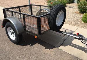 Heavy duty jeep trailer, 4' X5' for Sale in Phoenix, AZ