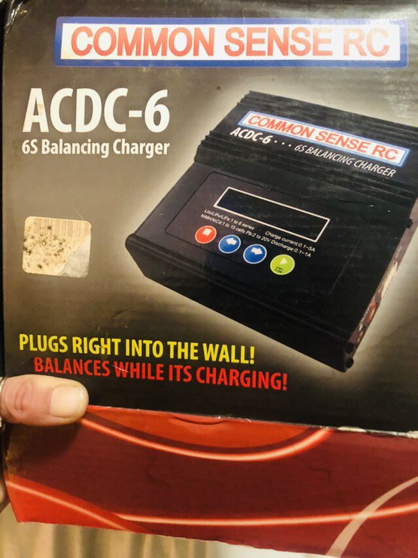 Acdc 6 6s balancing charger new in box