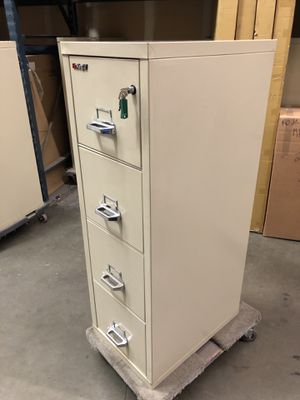 """File Cabinet - FireKing 25"""" Vertical 4-Drawer file cabinet for Sale in San Leandro, CA"""