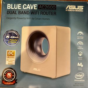 ASUS Blue Cave AC2600 Dual-Band Wireless Router / Refurbished To New for Sale in Los Angeles, CA