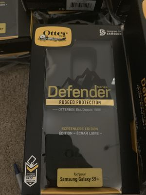 Samsung Galaxy S9+ Otter Box Defender Phone Case for Sale in Tempe, AZ