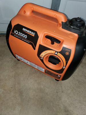 Generac generator 2000 ($350) for Sale in Buda, TX