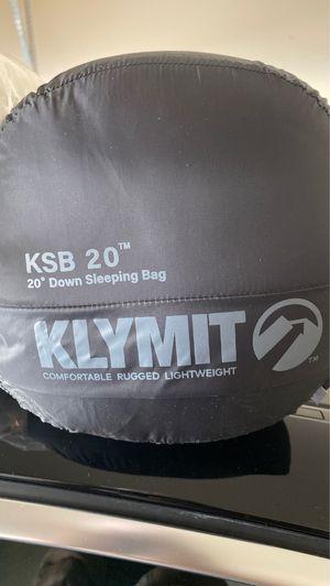 Klymit sleeping bag for Sale in Norcross, GA