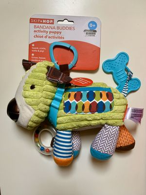 Toy puppy for kids; age 0+; games bandana buddies for Sale in Oak Park, IL
