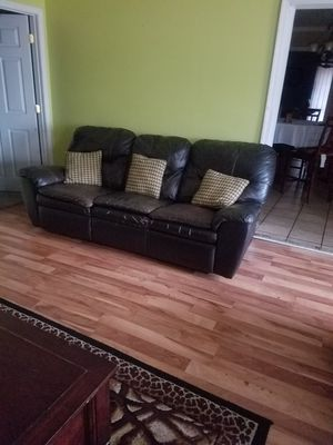 leather couch set, Ashley furniture. for Sale in LRAFB, AR