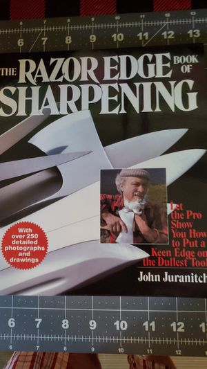 The Razor Edge Book of Sharpening for Sale in Peoria, IL