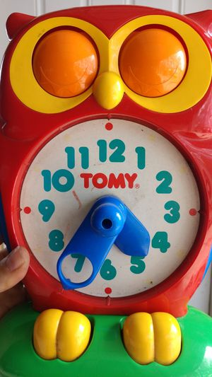 Tomy learning clock for Sale in Brooktondale, NY