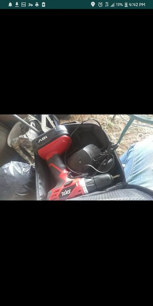 18-volt cordless drill for Sale in Moriarty, NM