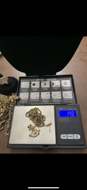 14k rope chain/ anchor for Sale in Georgetown, TX