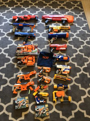 Toy Nerf guns and extenders/brand new Legos in box various prices $5-$20 for Sale in Fremont, CA