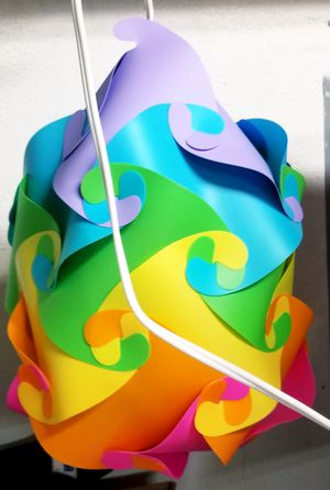 Colorful Hanging Lamp for Sale in Vancouver, WA
