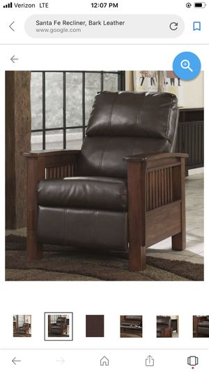 Gorgeous Ashley furniture leather sante fe chair brand new for Sale in Keizer, OR