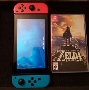 Nintendo Switch With Zelda for Sale in Montclair, CA