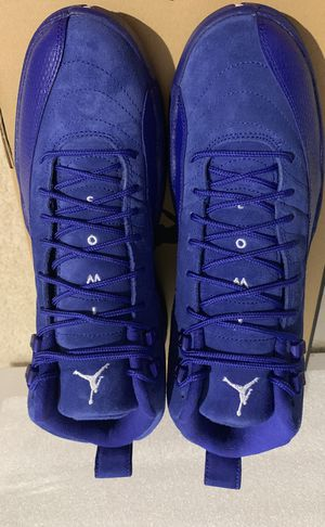 Jordan Retro 12 Blue Suede for Sale in Manassas, VA