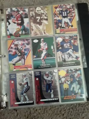 Patriots football cards for Sale in Russell, KS