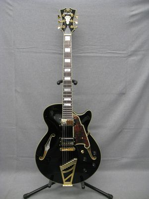 D'Angelico Excel Series SS Semi-Hollowbody Electric Guitar Black for Sale in Los Angeles, CA
