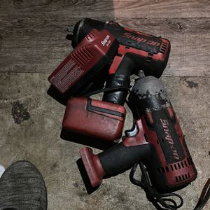 Snap On Impact Both Work And I Have The Charger for Sale in Arlington, VA