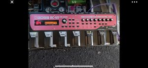 Boss rc-50 loop station for Sale in Soquel, CA