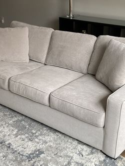 "Radley Heavenly Cinder Grey 86"" Couch for Sale in Atlanta,  GA"
