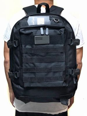 Brand NEW! Large Black Tactical Molle Backpack For Everyday Use/Work/Traveling/Hiking/Biking/Hunting/Fishing/Skateboarding/Sports/Gym for Sale in Carson, CA