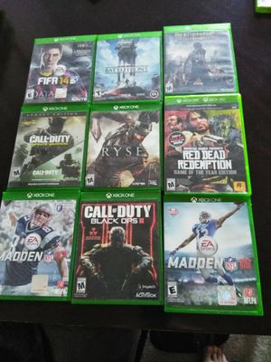 Xbox. One games for Sale in Everett, WA
