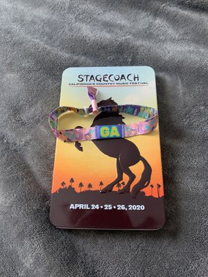 Stagecoach ticket for Sale in Long Beach, CA