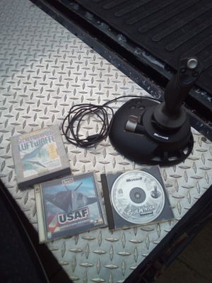 Microsoft Sidewinder precision 2 joystick for Sale in Parma, OH