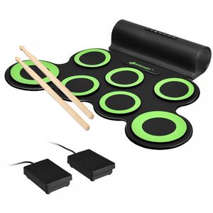 Set 7 Kit Electronic Roll Up Pads MIDI Drum for Sale in La Habra Heights, CA