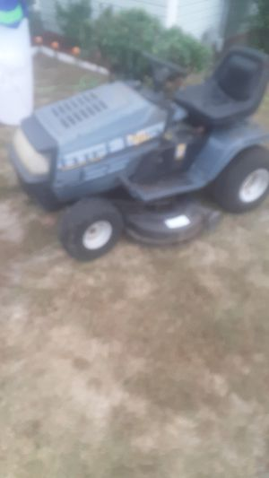 yard machine riding mower runs good but needs 2 pulley work on for Sale in Burlington, NC