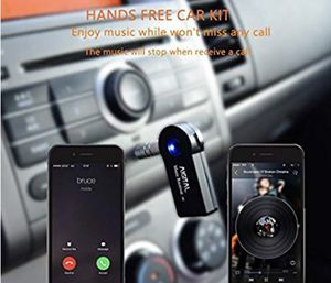 Bluetooth Receiver, Aigital Wireless 3.5mm AUX Audio Reception Adapter Car Kit Handsfree Home Stereo Music Speaker System Pair with All Smart Phone a for Sale in Riverdale, GA