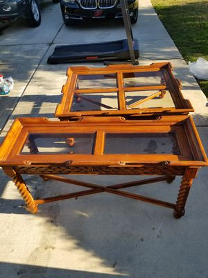 Solid wood tables for Sale in Kyle, TX