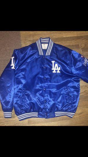 8d9395f2b7e Los Angeles Dodgers Jacket 4XL blue baseball MLB official for Sale in San  Bernardino, CA