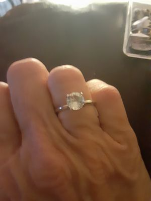 Rhinestone ring size 7 for Sale in PT CHARLOTTE, FL