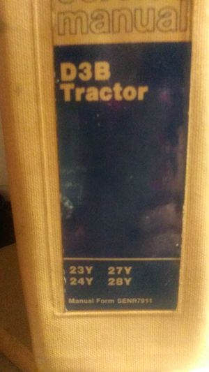 Service manual D3B Tractor for Sale in Canton, TX