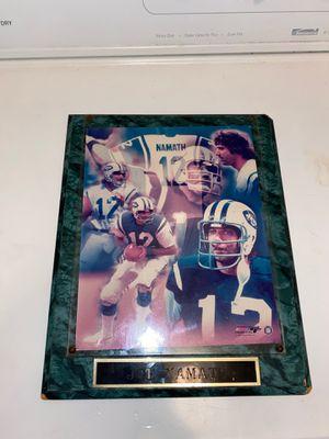 Joe Namath NY Jets vintage photo for Sale in Palm Bay, FL