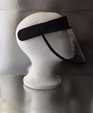 2 in 1 style clear visor face shield for Sale in Whittier, CA