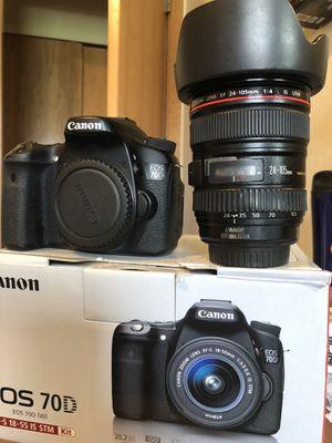 Camera canon 70 d & DJI Ronin MX for Sale in Lake Grove, OR