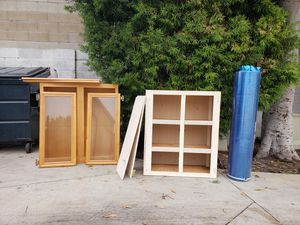 FREE!!! cabinets with doors for Sale in Costa Mesa, CA