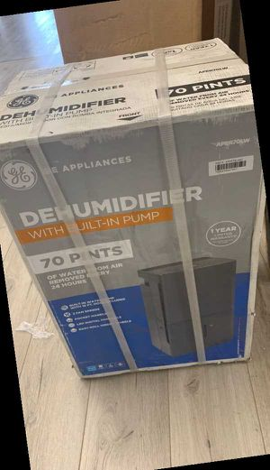 Open box GE Dehumidifier L7IJ for Sale in Dallas, TX