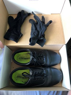 Drillmasters marching shoes & gloves for Sale in Hastings, MI