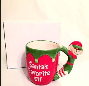 SANTA'S FAVORITE ELF MUG for Sale in Falls Church, VA