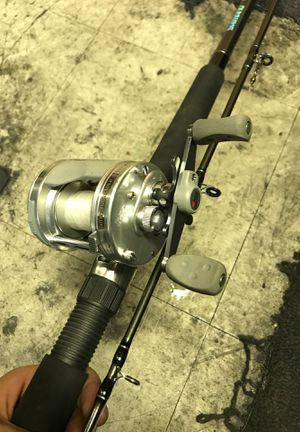 Shimano fishing rod & abu Garcia fishing reel combo for Sale in San Diego, CA