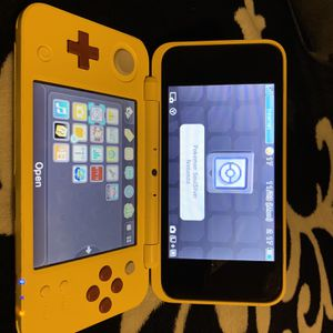 Nintendo 3ds Pikachu Edition With A Pokémon Game for Sale in Fresno, CA