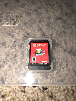 Nintendo Switch Super Mario Odyssey for Sale in Bellefonte, PA
