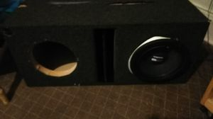 Professional kicker box fits size 10s speakers for Sale in Pittsburgh, PA