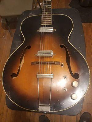 Vintage 1959 Kay 6550 Archtop Acoustic Electric for Sale in Denver, CO